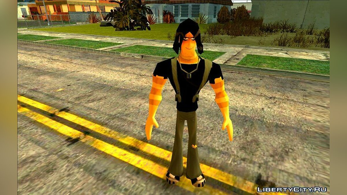 Персонажи из Ben 10 Omniverse for GTA San Andreas - screenshot #6