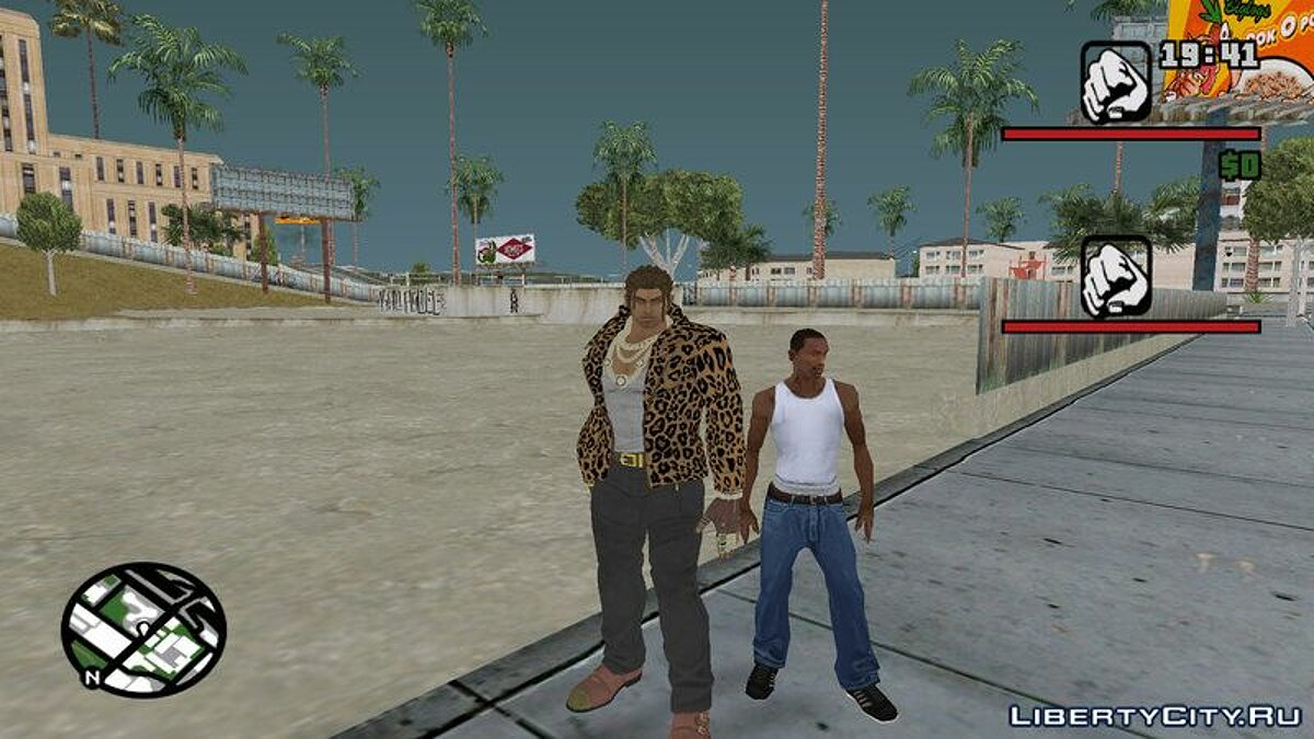Skin packs Random Skin Pack # 5 (Mostly Tekken) (Eddy update) for GTA San Andreas