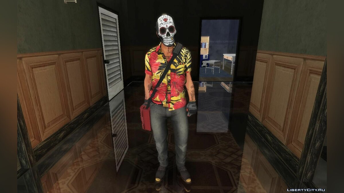 Skin packs Collection of skins from PAYDAY 2 for GTA San Andreas
