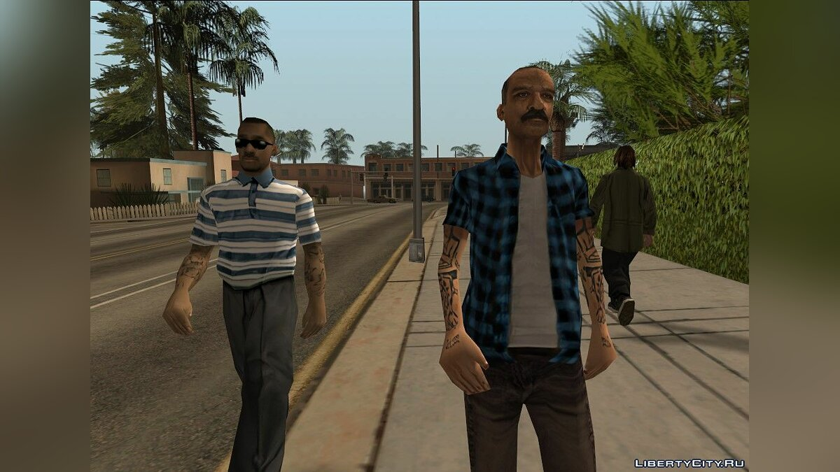 Skin packs Peds Textures Upscale for GTA San Andreas