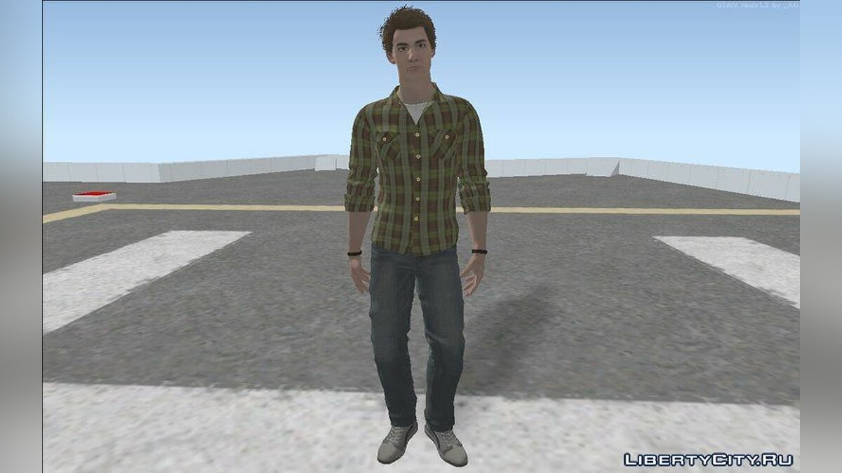 Skin packs Peter Parker - a collection of skins for GTA San Andreas