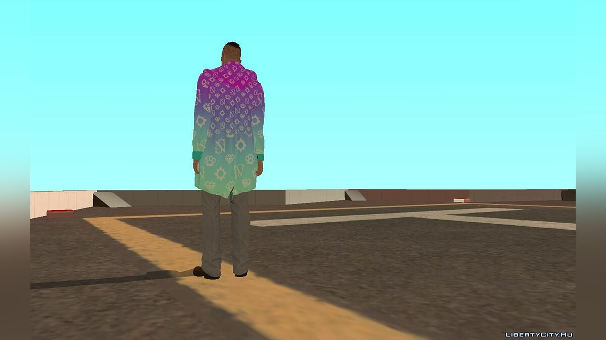 "Skin packs Скин пак #9 из DLC ""Diamond casino & Resort"" for GTA San Andreas"