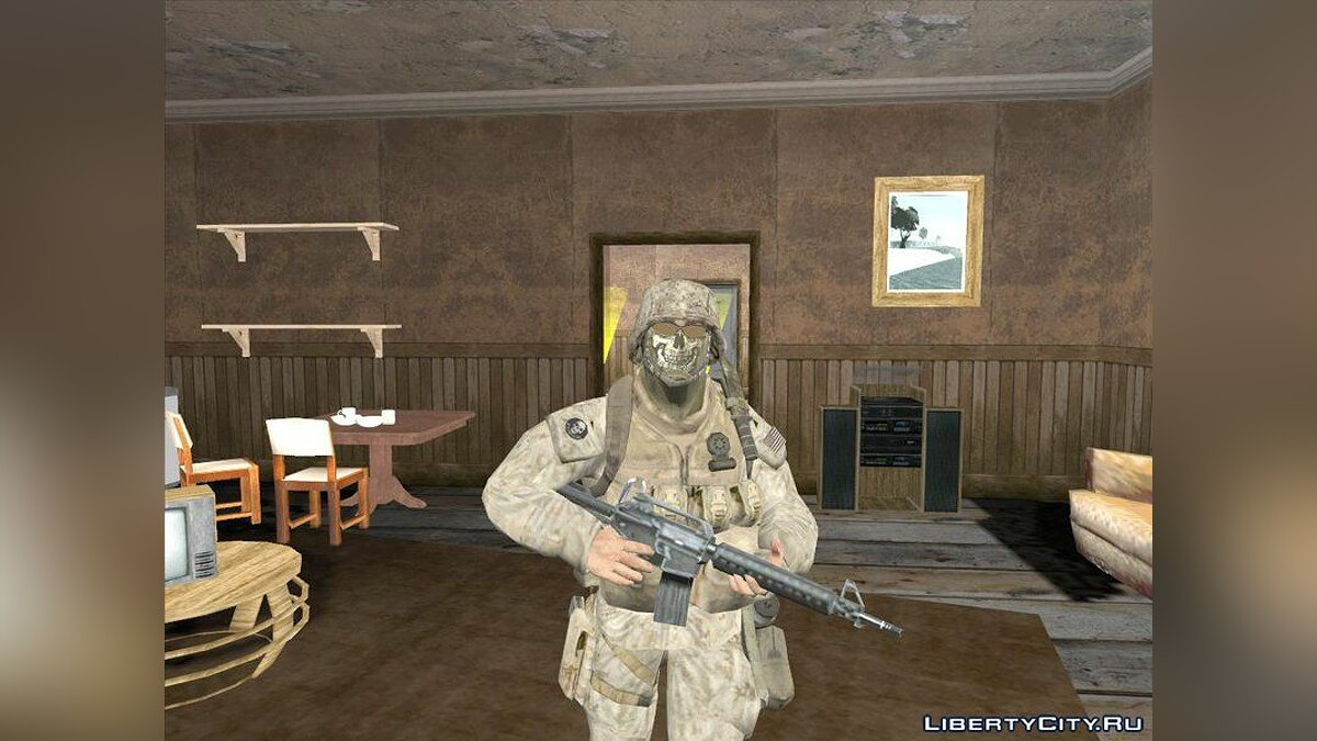Cod Mw2 Ghost Model Hack Pack For Gta San Andreas