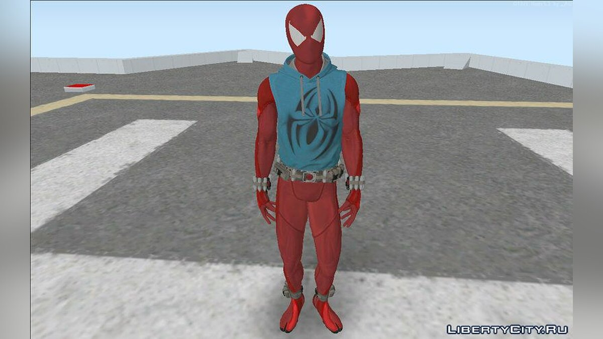 Skin packs Spider-Man from the PS4 Game for GTA San Andreas