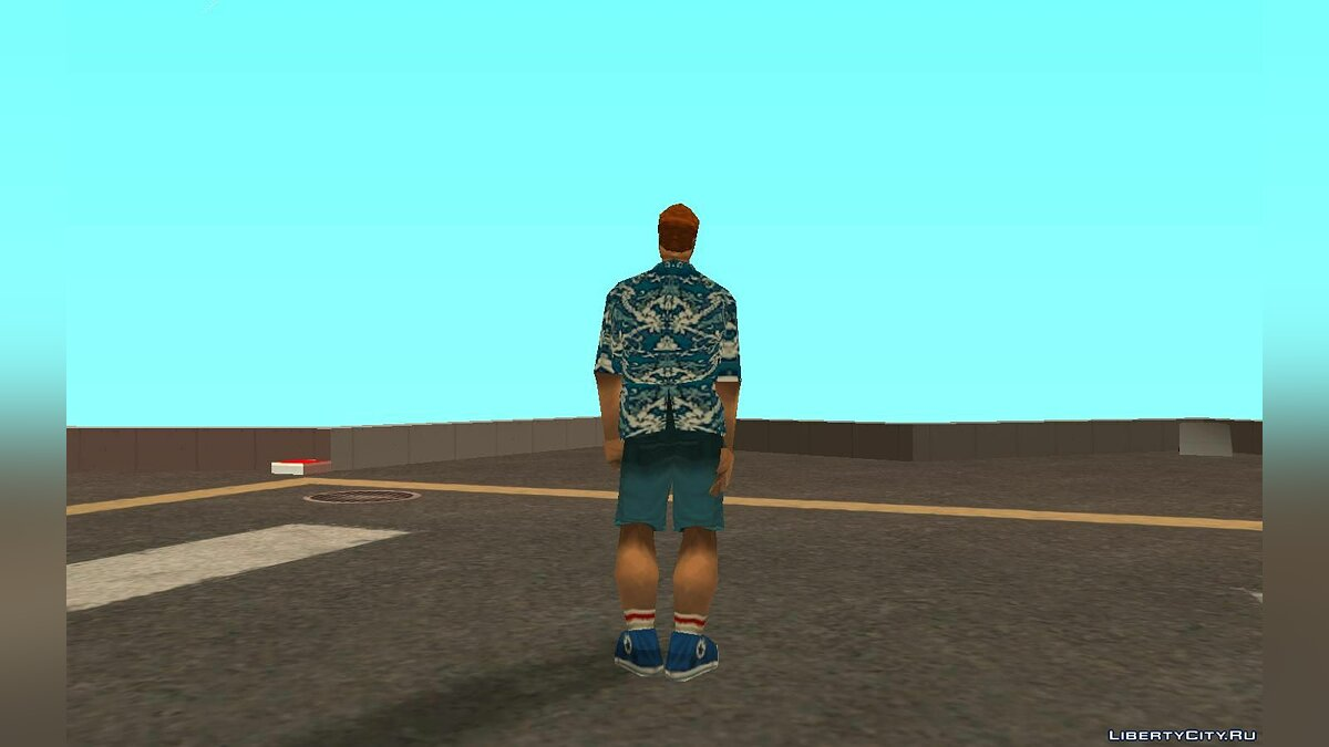 Skin packs Cборник педов из GTA 3 for GTA San Andreas