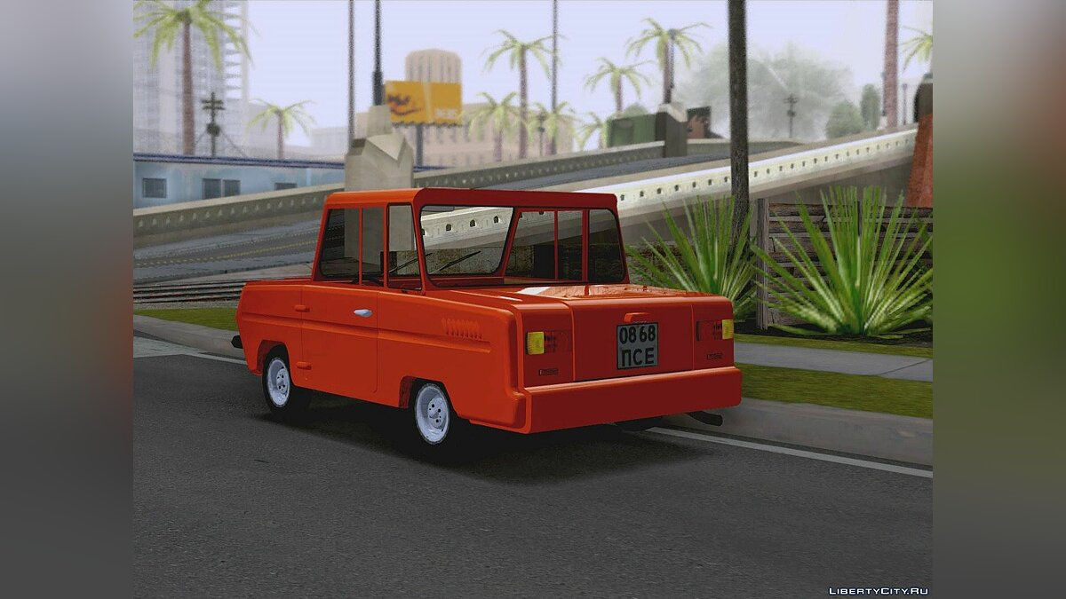 SMZ car SMZ P-3D for GTA San Andreas