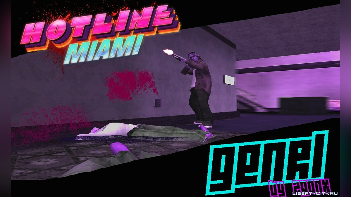 New sounds Hotline Miami GENRL for GTA San Andreas