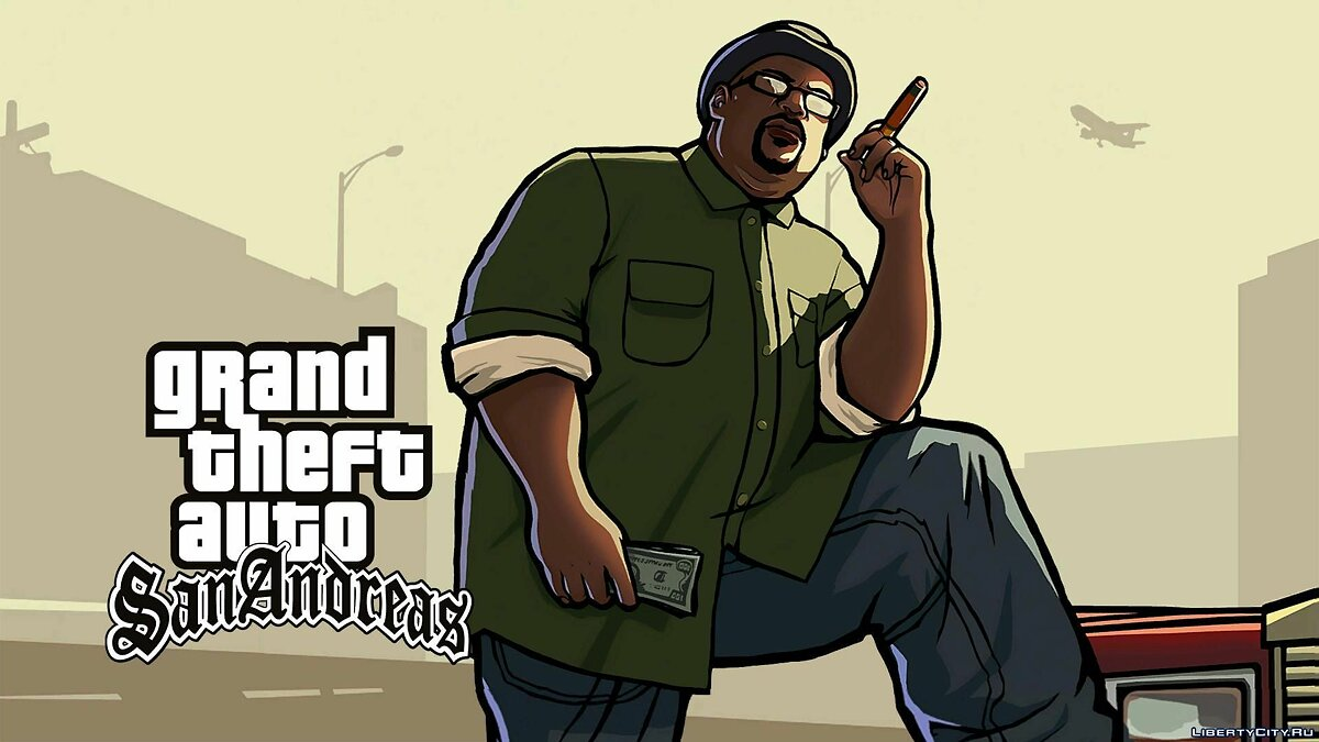 New sounds New sounds when loading the game for GTA San Andreas