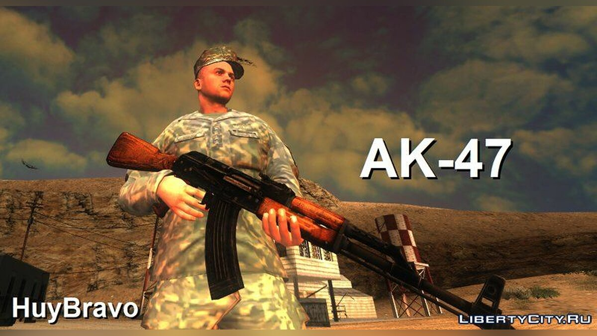 New sounds New sounds for AK-47 for GTA San Andreas