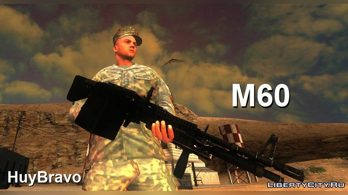 New sounds New M60 sounds for GTA San Andreas