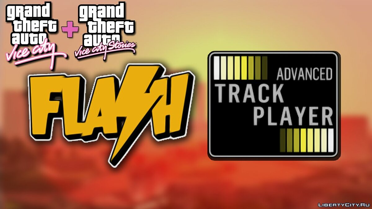 New sounds Flash FM - Advanced Track Player for GTA San Andreas