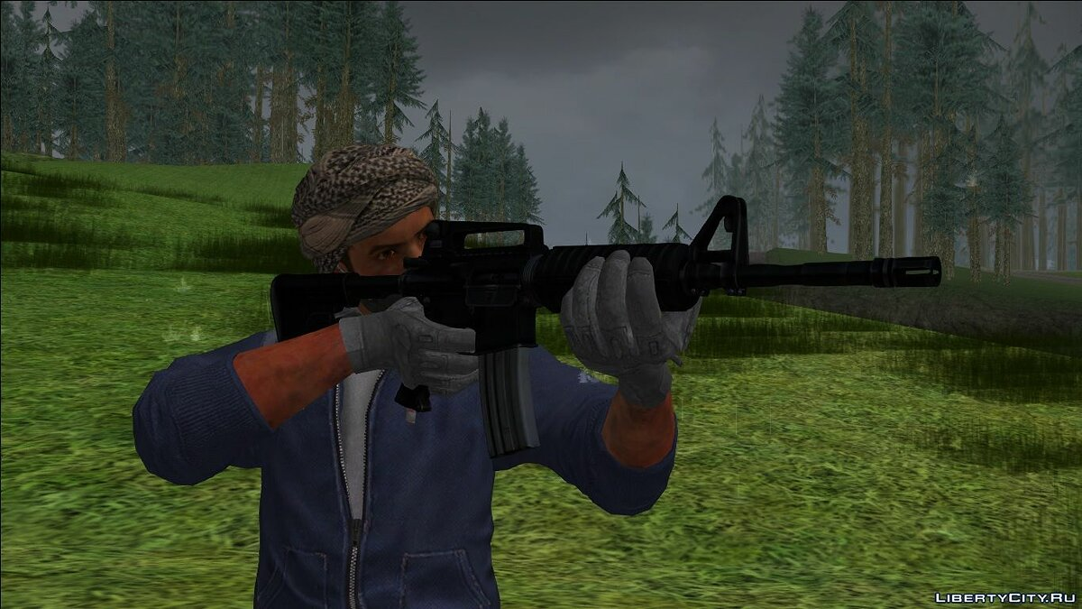 New sounds New Generation Weapon Sounds (Next Gen) for GTA San Andreas