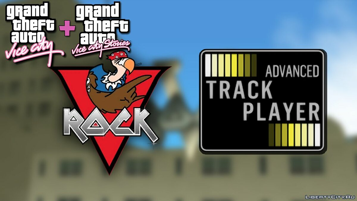 New sounds V-Rosk - Advanced Trask Player for GTA San Andreas