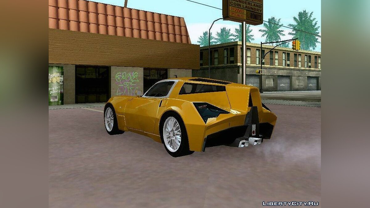 Spada car Spada Codatronca TS Concept 2008 for GTA San Andreas