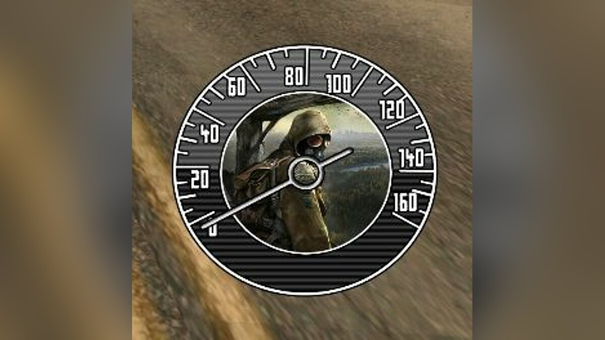 Speedometer Speedometer S.T.A.L.K.E.R for GTA San Andreas