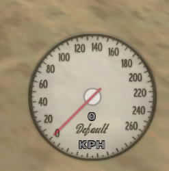 Speedometer SpeedoSA v1.0.1 for GTA San Andreas