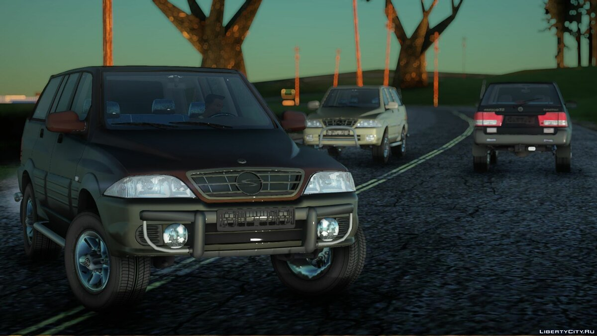 SsangYong car SsangYong Musso 3.2 for GTA San Andreas