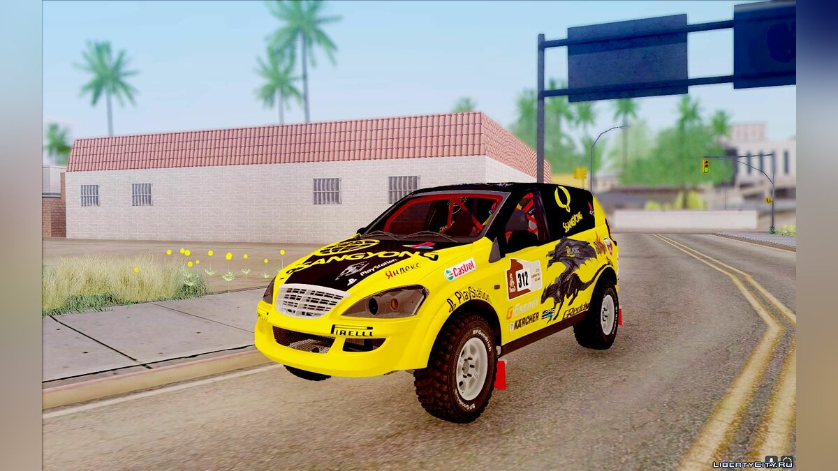 SsangYong car SsangYong Kyron 2 Rally Dakar for GTA San Andreas