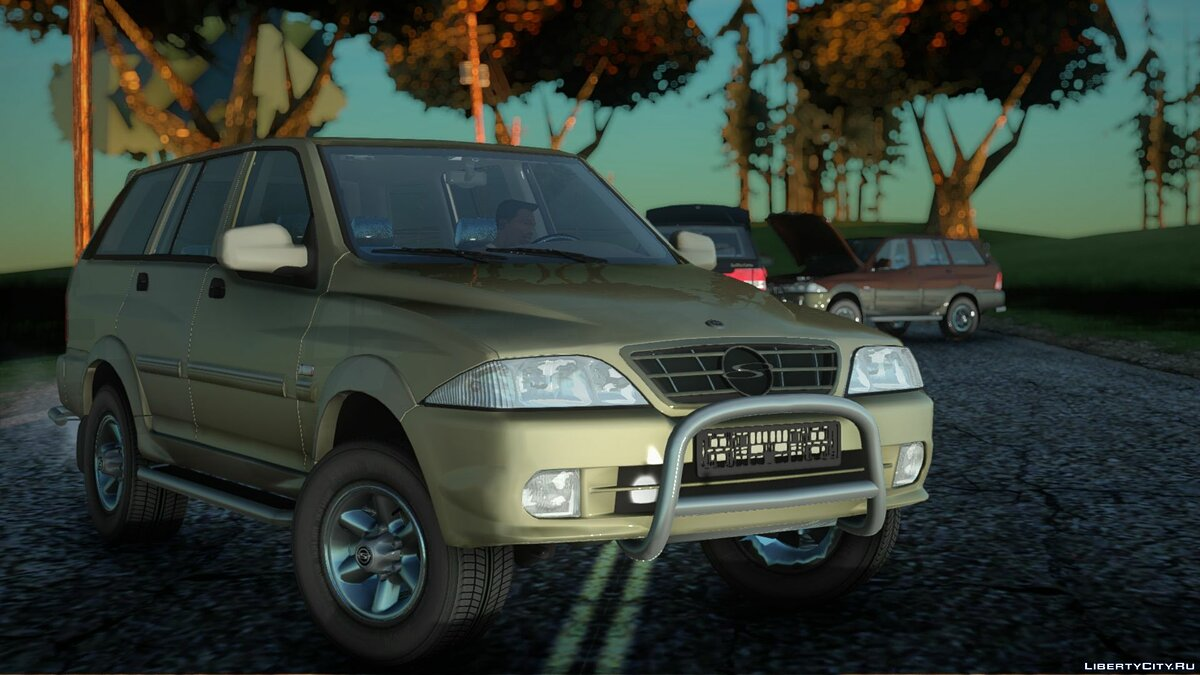 SsangYong car SsangYong Musso 2.3 for GTA San Andreas