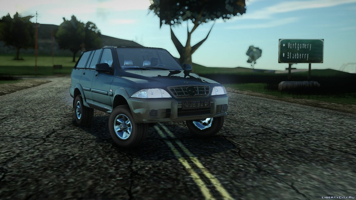 SsangYong car SsangYong Musso 2.9 for GTA San Andreas