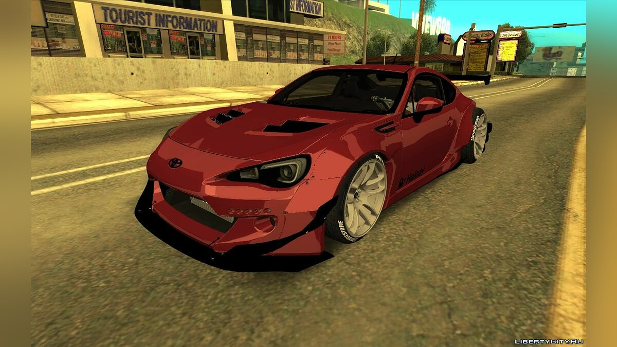 Subaru car Subaru BRZ Rocket Bunny Vz for GTA San Andreas