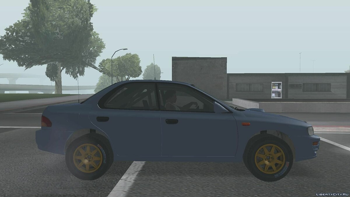 Subaru car Subaru Impreza WRX STi 1995 for GTA San Andreas