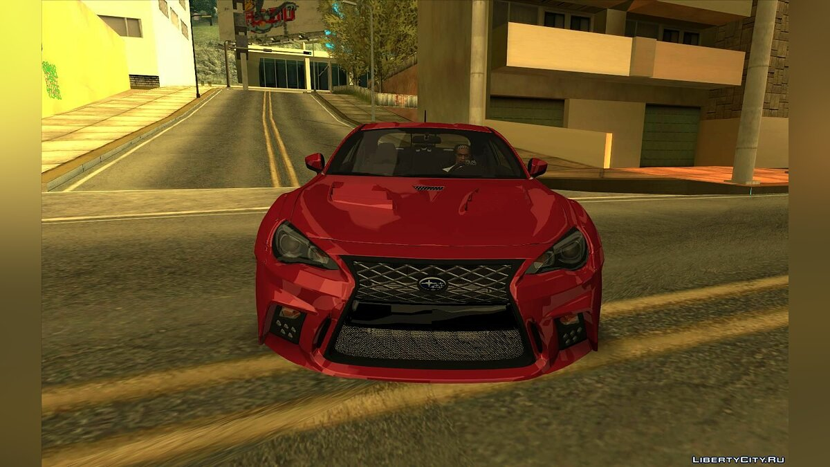 Subaru car Subaru BRZ Drift for GTA San Andreas