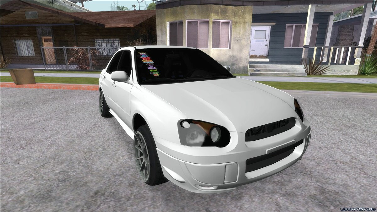 Subaru car Subaru Impreza JDM for GTA San Andreas