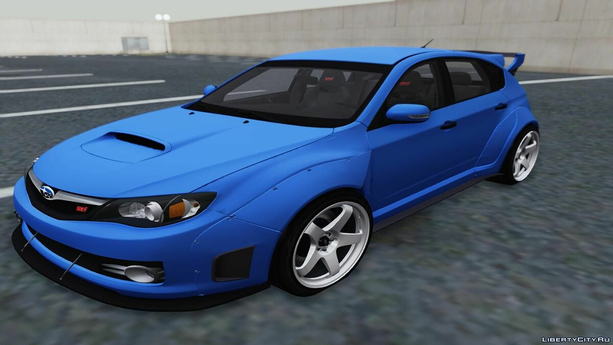 Subaru car Subaru Impreza WRX STI Rocket Bunny for GTA San Andreas