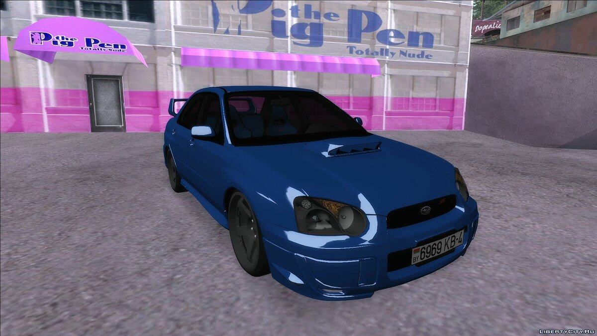 Subaru car Subaru Impreza WRX STi for GTA San Andreas