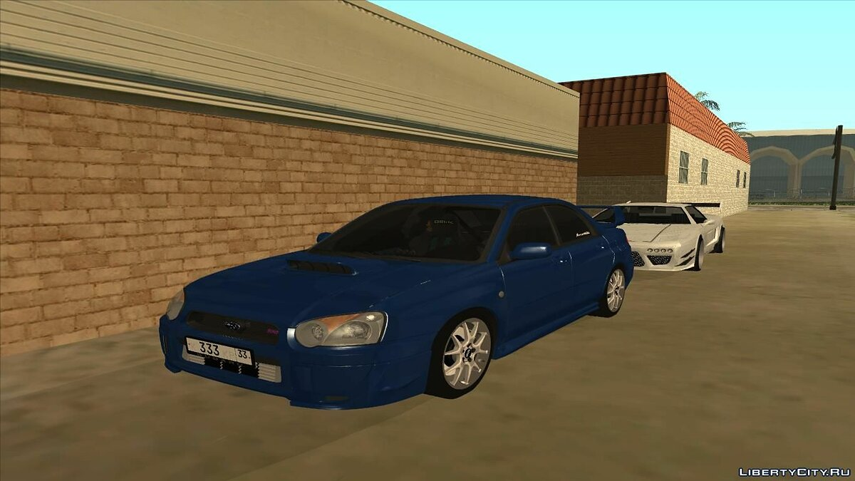 Subaru car Subaru impreza WRX STI 2004 for GTA San Andreas