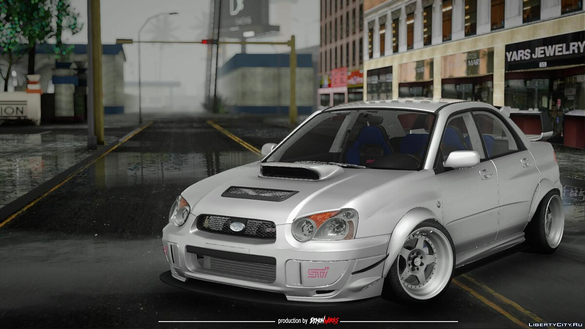 Subaru car Subaru Impreza WRX STI Custom for GTA San Andreas