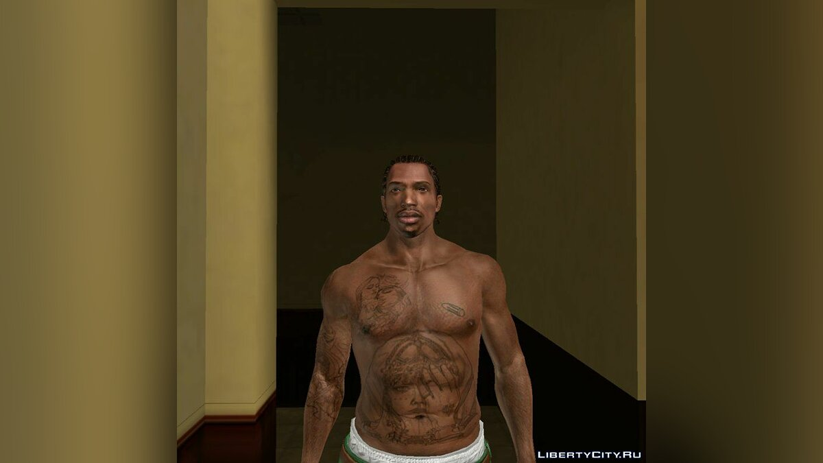 Tattoos New tattoo for CJ for GTA San Andreas
