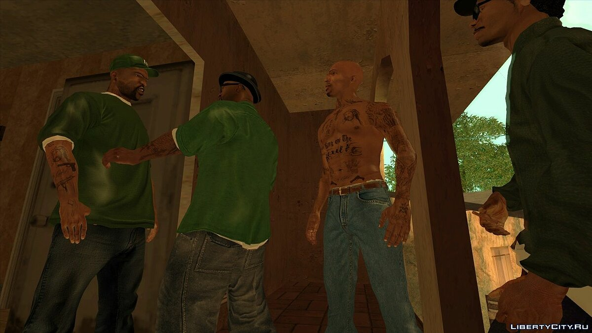 Tattoos Tattoos for characters for GTA San Andreas