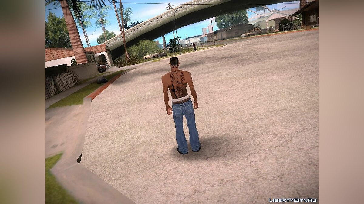 Tattoos 8gun for GTA San Andreas