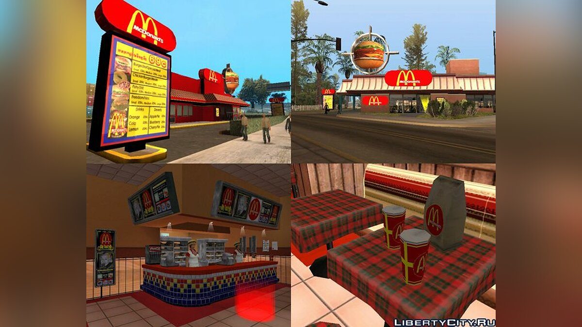 McDonalds Ultimate for GTA San Andreas