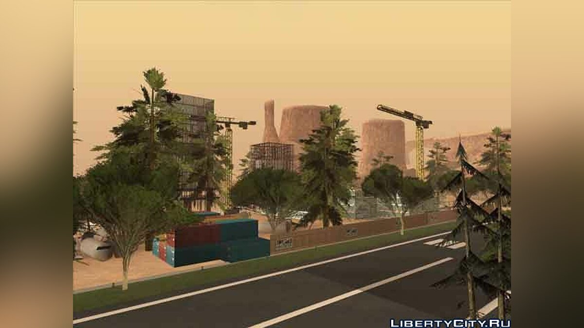 New CJ's Airport for GTA San Andreas