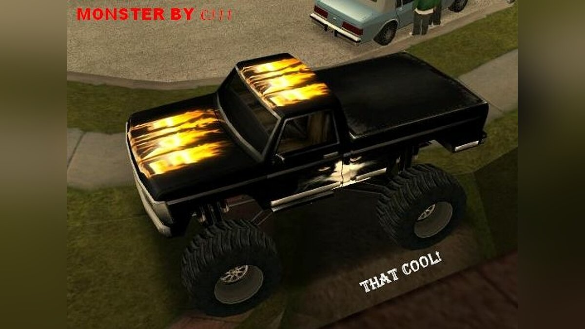 Texture mod Monster By CJ11 for GTA San Andreas