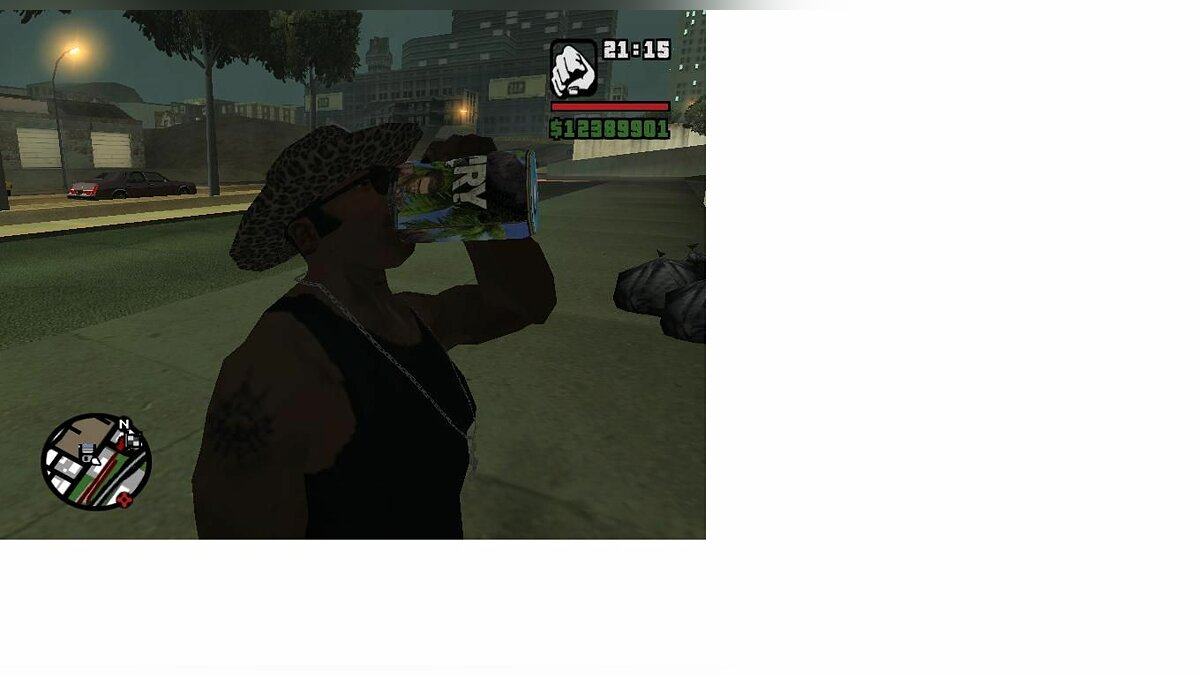 Texture mod Bank to a machine with soda Far Cry for GTA San Andreas
