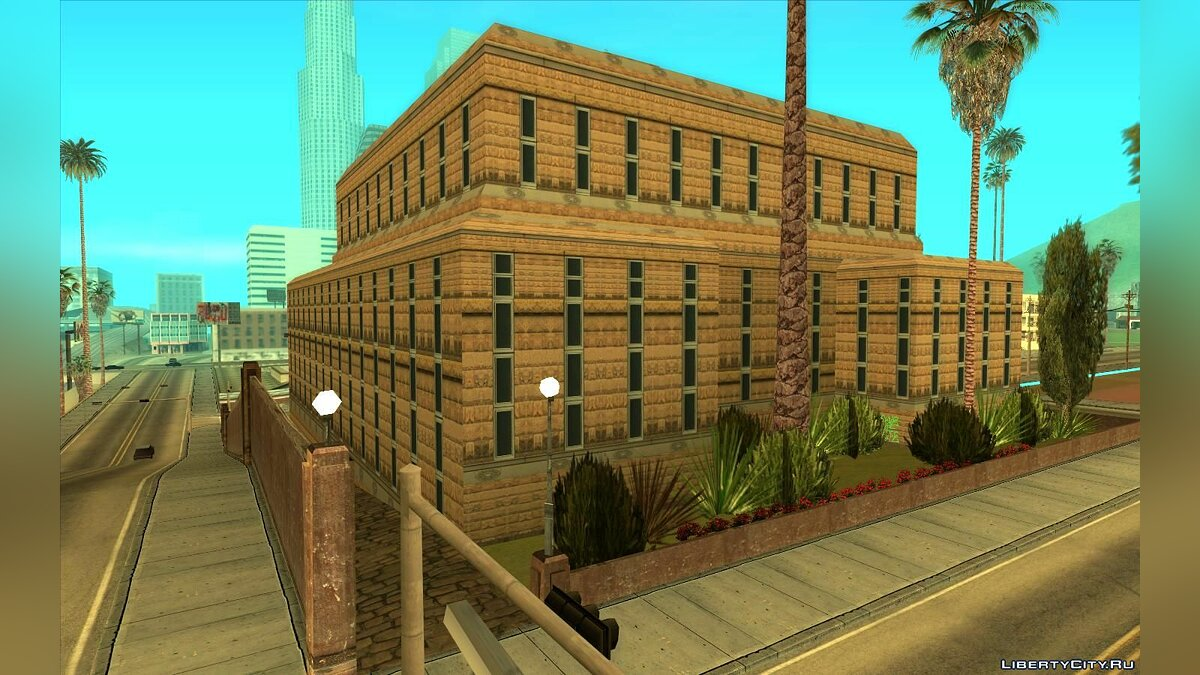 Texture mod HQ texture of a hospital in Los Santos for GTA San Andreas