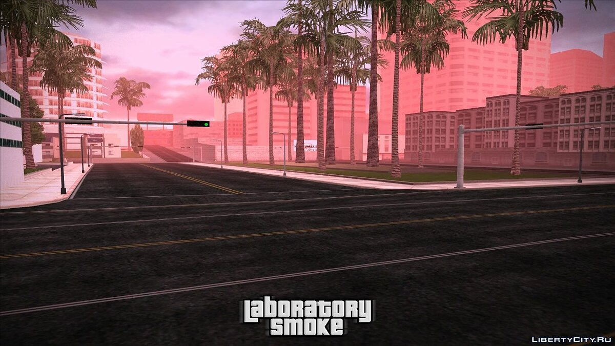 Texture mod New Roads for GTA San Andreas