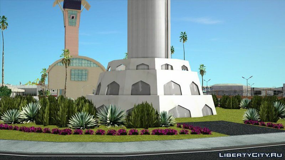 Texture mod Baghdad Tower for GTA San Andreas