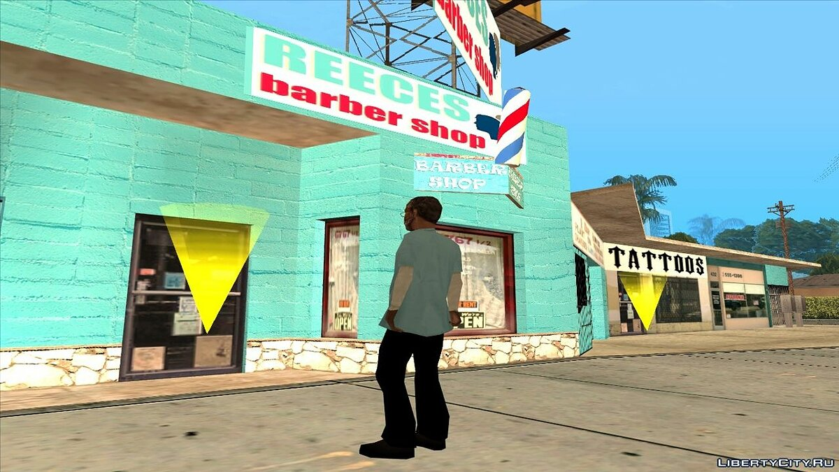 Texture mod Idlewood Barber Retexture for GTA San Andreas