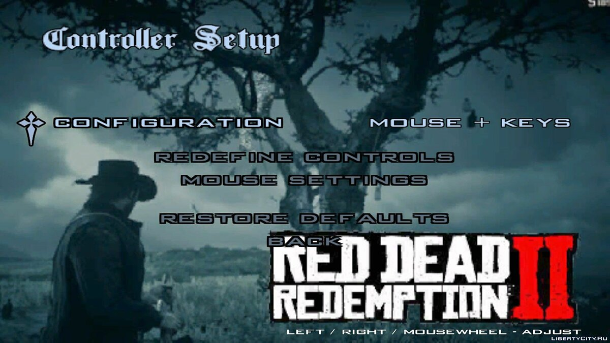 Texture mod Red Dead Reception 2 boot screen for GTA San Andreas