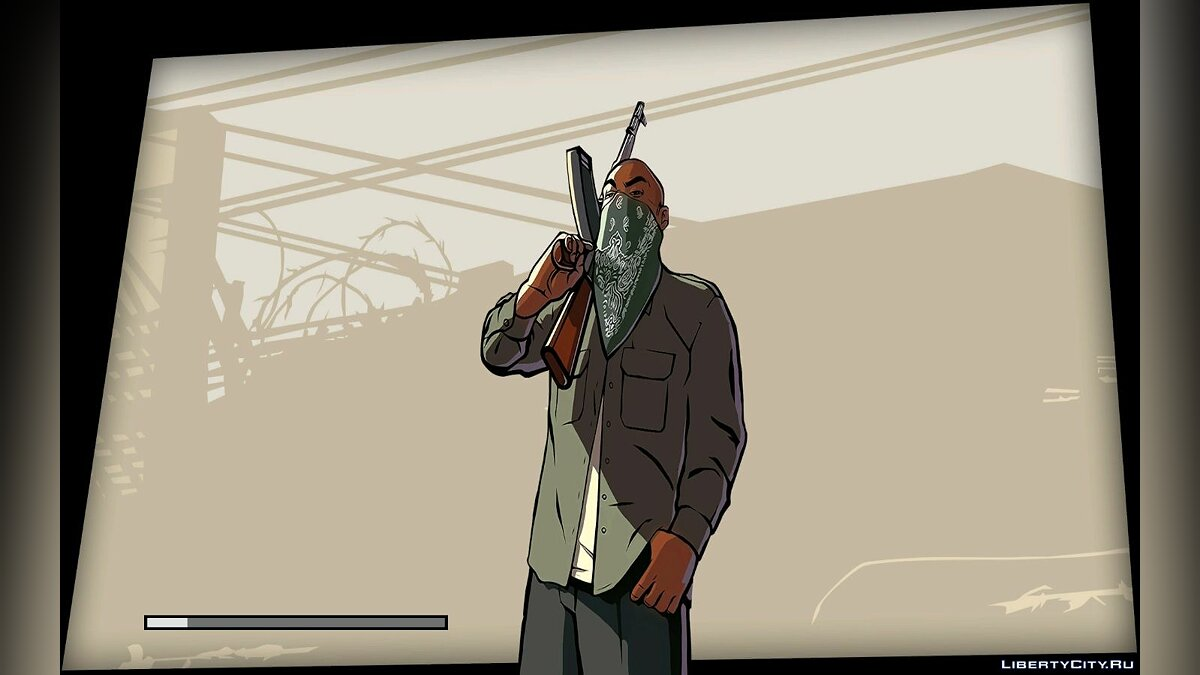 Texture mod Improved loading screens for GTA San Andreas