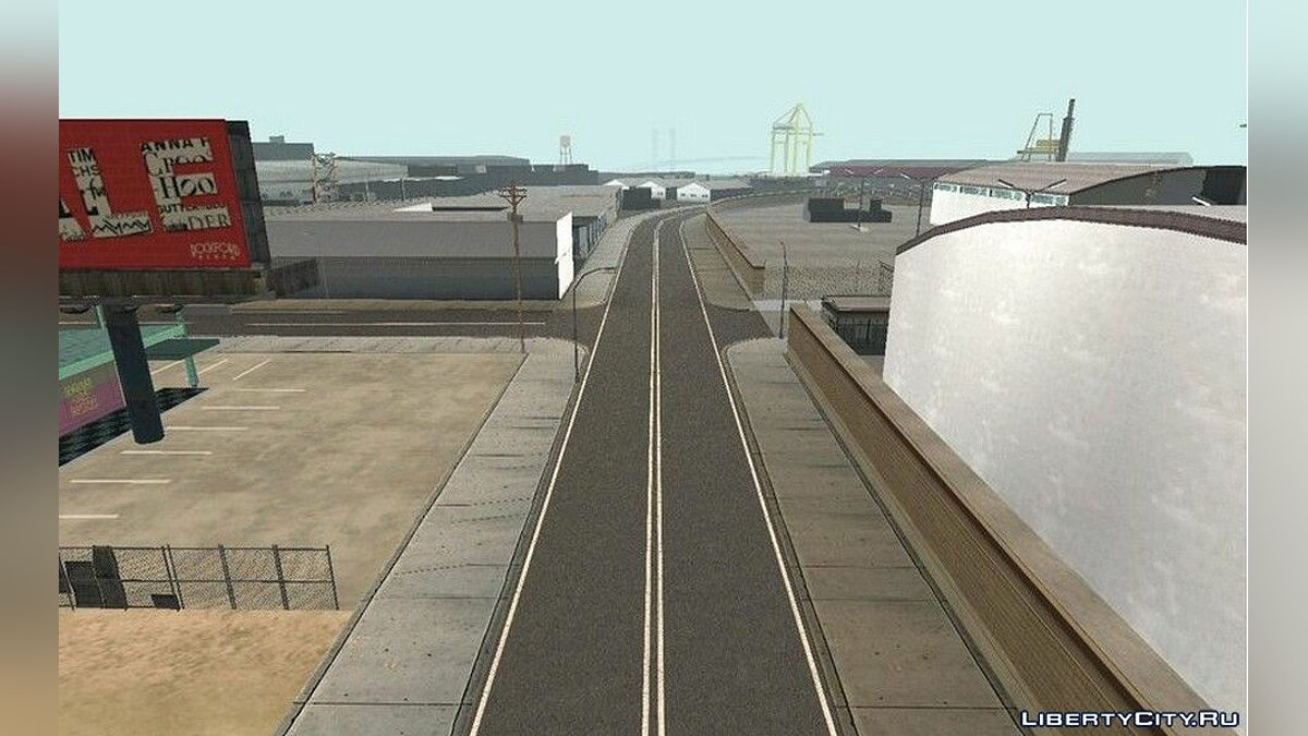 Texture mod New roads for Los Santos for GTA San Andreas