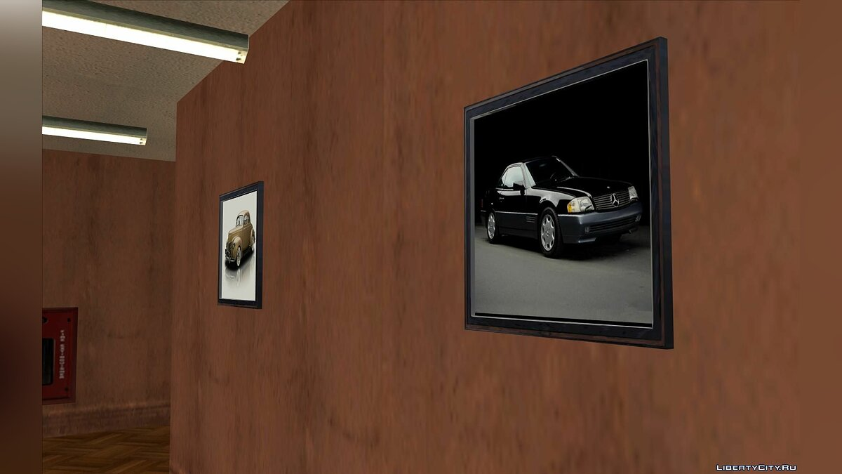 Texture mod SF Driving School Car Pics for GTA San Andreas