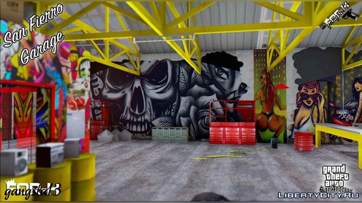 Texture mod San fierro garage for GTA San Andreas
