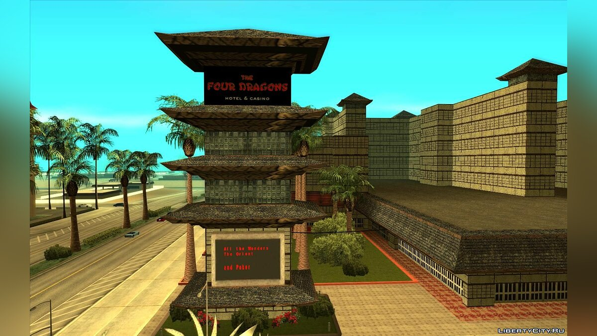 Texture mod New textures for the casino
