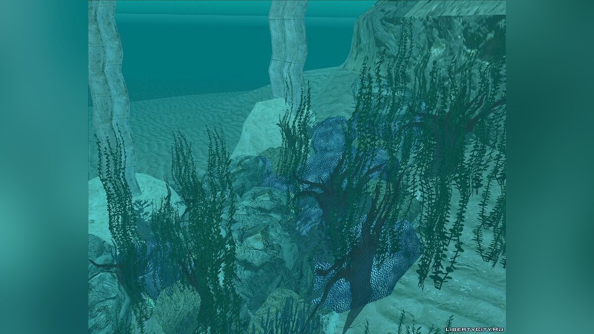 Texture mod Underwater world GTASA for GTA San Andreas